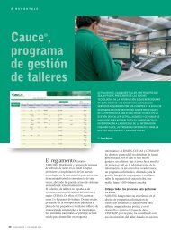 Cauce ®, programa de gestión de talleres - Revista Cesvimap