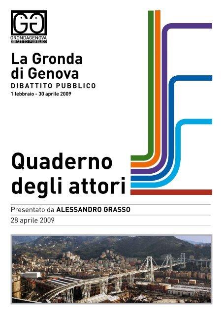 Quaderno inviato da Alessandro Grasso - Urban Center - Comune ...