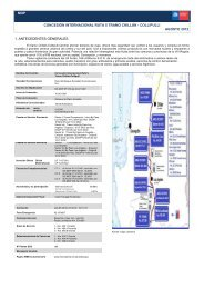 mop concesión internacional ruta 5 tramo chillán - collipulli agosto ...