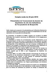 Compte rendu du 22 juin 2010 - DREAL Midi-Pyrénées