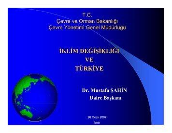 İKLİM DEĞİŞİKLİĞİ VE TÜRKİYE - REC Türkiye