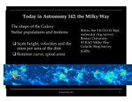 Today in Astronomy 142: the Milky Way - Astro Pas Rochester