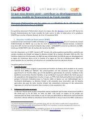 français - NGO Delegation to the UNAIDS PCB