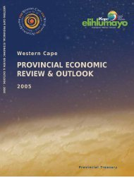 PROVINCIAL ECONOMIC REVIEW & OUTLOOK - tips