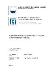 Ústav automatizace a informatiky - Vysoké učení technické v Brně