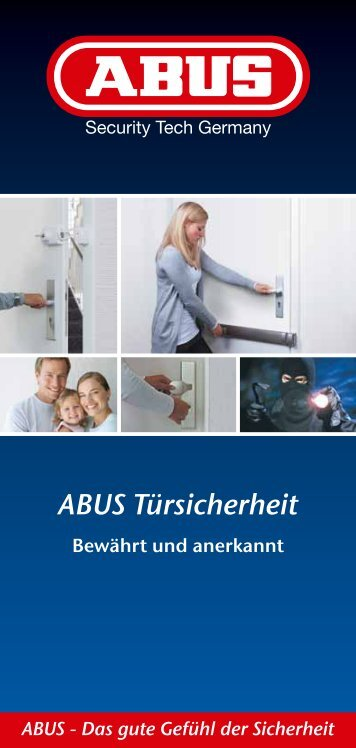Produktübersicht: ABUS Türsicherheit - SIPEKO Sicherheitstechnik