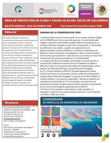 S-O-N igc 2009 - área de protección de flora y fauna islas del golfo ...