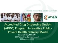 Accredited Drug Dispensing Outlets (ADDO) - Results for ...