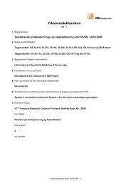 Ydeevnedeklaration nr.1 - DS Stålprofil