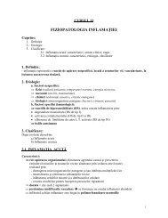 Fiziopatologia sindromului inflamator - OvidiusMD