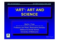 art and science - Tour Hosts Pty Limited