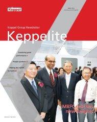April 2010 - Keppel Corporation