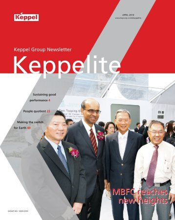 April 2010 - Keppel Corporation