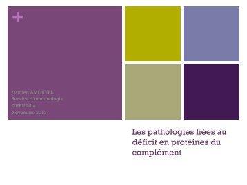 complément et pathologies