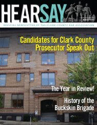 Candidates for Clark County Prosecutor Speak Out