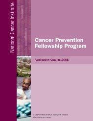 Cancer Prevention Fellowship Program - National Cancer Institute