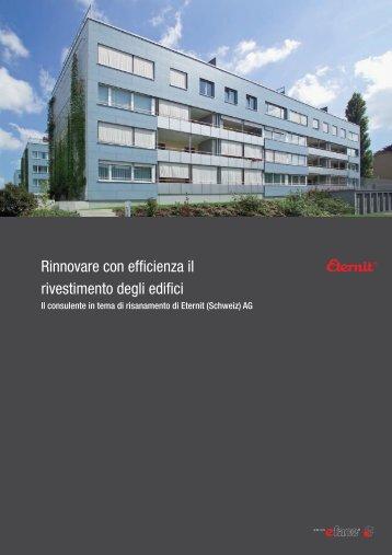Rinnovare con efficienza il rivestimento degli edifici