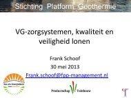 Frank Schoof van de Stichting Platform Geothermie - Energiek2020