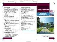 Flyer - Universitätsklinikum Regensburg