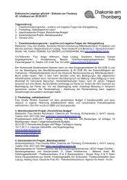 Diakonische Leipziger gGmbH – Diakonie am Thonberg 42 ...