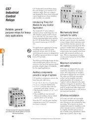 Control & Timing Relays - E-Catalog - Sprecher + Schuh