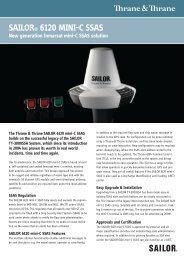 SAILOR® 6120 mInI-c SSAS - Amazon Web Services
