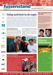 4708 Tussenstand.indd - Regionaal Platform Arbeidsmarktbeleid ...