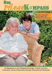 Mit den aktuellen Leistungen der Pflegeversicherung