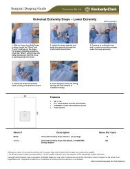 Universal Extremity Drape – Lower Extremity Surgical Draping Guide