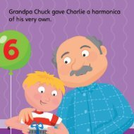 Page 1 Page 2 Grandpa Chuck taught Charlie haw to play.
