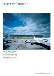 Heathrow Terminal 5 - Rogers Stirk Harbour + Partners