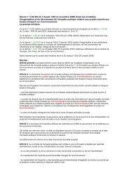 Décret n° 2-04-564 du 5 kaada 1429 (4 novembre 2008 ... - REME