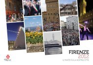 Firenze 2012, il punto sulla nostra città - Comune di Firenze