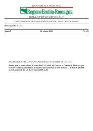 bollettino ufficiale - Territorio - Regione Emilia-Romagna