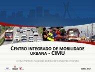 Centro Integrado de Mobilidade Urbana - CET
