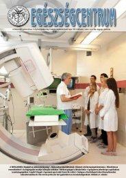 és Egészségtudományi Centrum ismeretterjesztő lapja • VIII ...