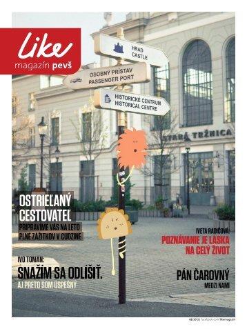 LIKE magazín 05/2012 PDF - Paneurópska vysoká škola