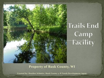 Property of Rusk County, WI
