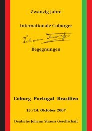 Zwanzig Jahre Internationale Coburger ... - arts Ralph Braun
