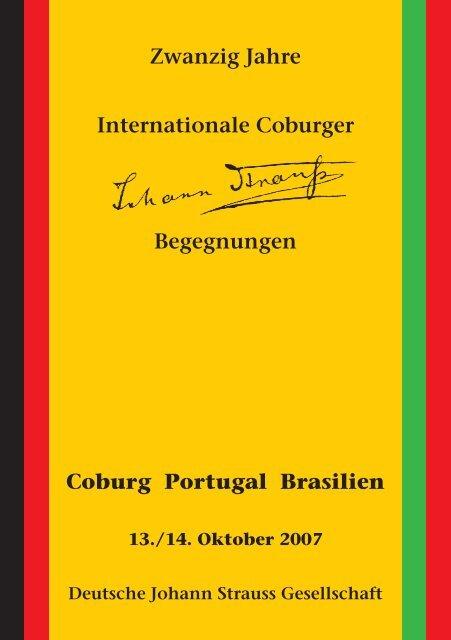 Zwanzig Jahre Internationale Coburger ... - arts Ralph Braun