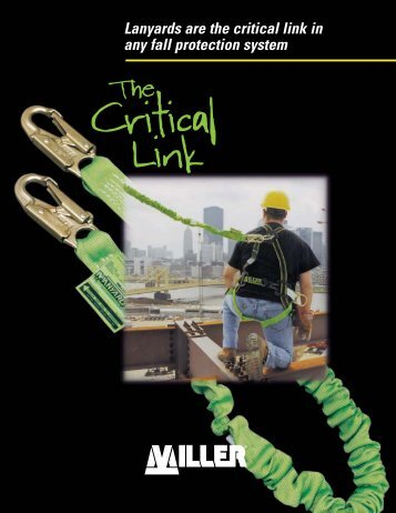 Critical Link Brochure - Miller Fall Protection