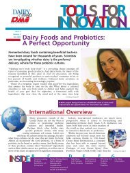 Dairy foods and probiotics: A perfect opportunity - InnovateWithDairy ...