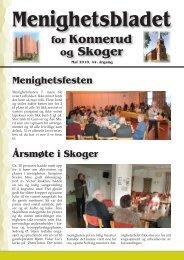 Menighetsbladet 02/10 - Den norske kirke i Drammen