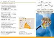 2. Hammer Arthrose-Tag - iuventas Hamm