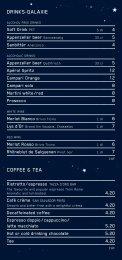 DRINKS–GalaxIe COFFee & Tea