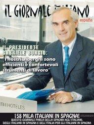 IL PRESIDENTE GABRIELE BURGIO: - Il Giornale Italiano