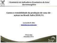 Fornecedores – safra 2010/11 - Canal Rural