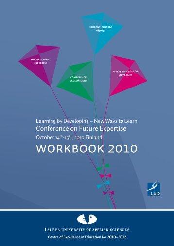 WORKBOOK 2010 - LbD Conference