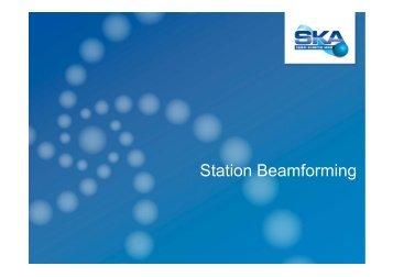 Station Beamforming