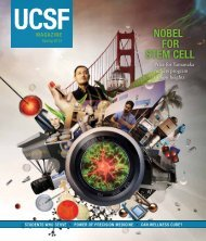 NOBEL FOR STEM CELL - Support UCSF